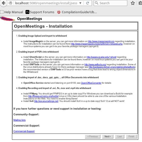 7 Cara Install OpenMeeting di Ubuntu Linux 1