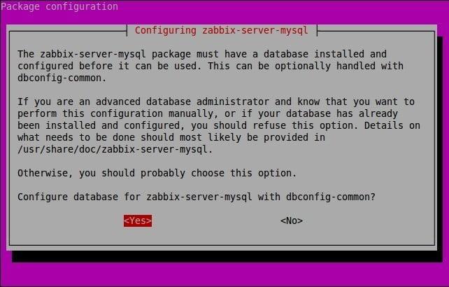Install Zabbix di Ubuntu